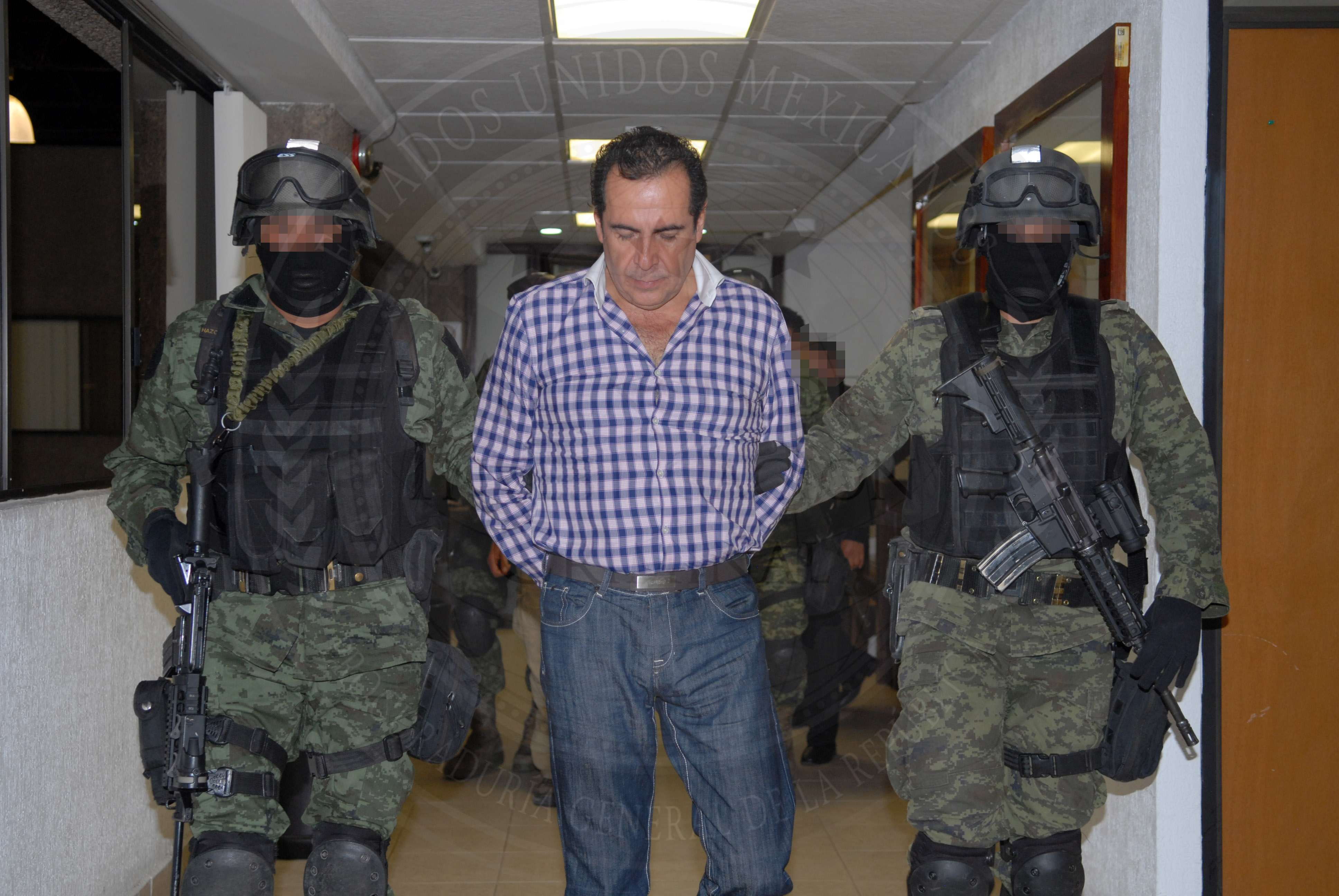 """Héctor Beltrán Leyva, capo del cartel de drogas mexicano de los Hermanos Beltrán Leyva, fue detenido en una operación """"discreta"""", según autoridades mexicanas. Foto: PGR"""