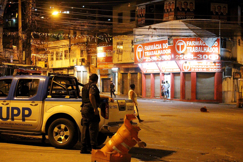 Policiais ocupam Vila Cruzeiro, no Rio de Janeiro Foto: Futura Press