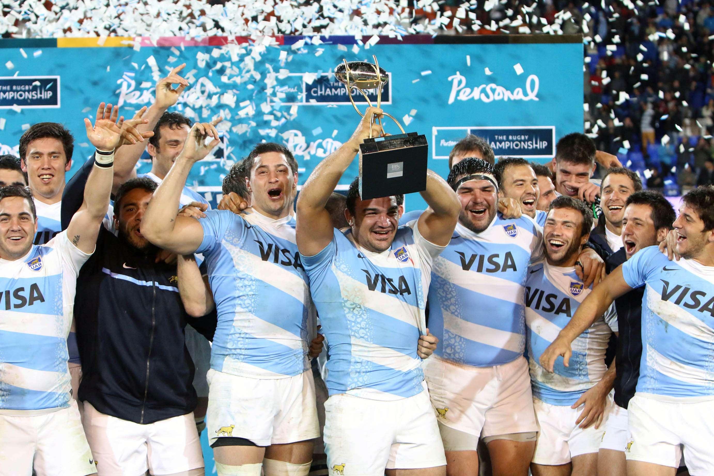 La Selección argentina de rugby, Los Pumas, necesitaron 18 partidos para poder conseguir su primer triunfo en el Rugby Championship, tras vencer a Australia por 21 a 17 en el estadio Malvinas Argentinas. Foto: Agencias
