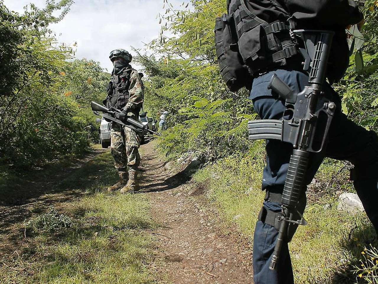 Así es la zona de las narcofosas clandestinas en Guerrero Foto: AFP en español