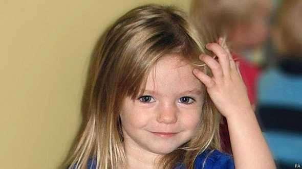 Madeleine McCann desapareceu em 2007 quando estava em férias em Portugal com os pais Foto: BBCBrasil.com