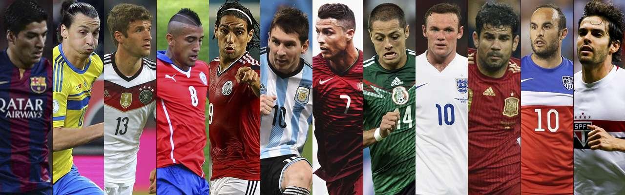 Jugadores a seguir en la Fecha FIFA de octubre 2014. Foto: Getty Images/AFP