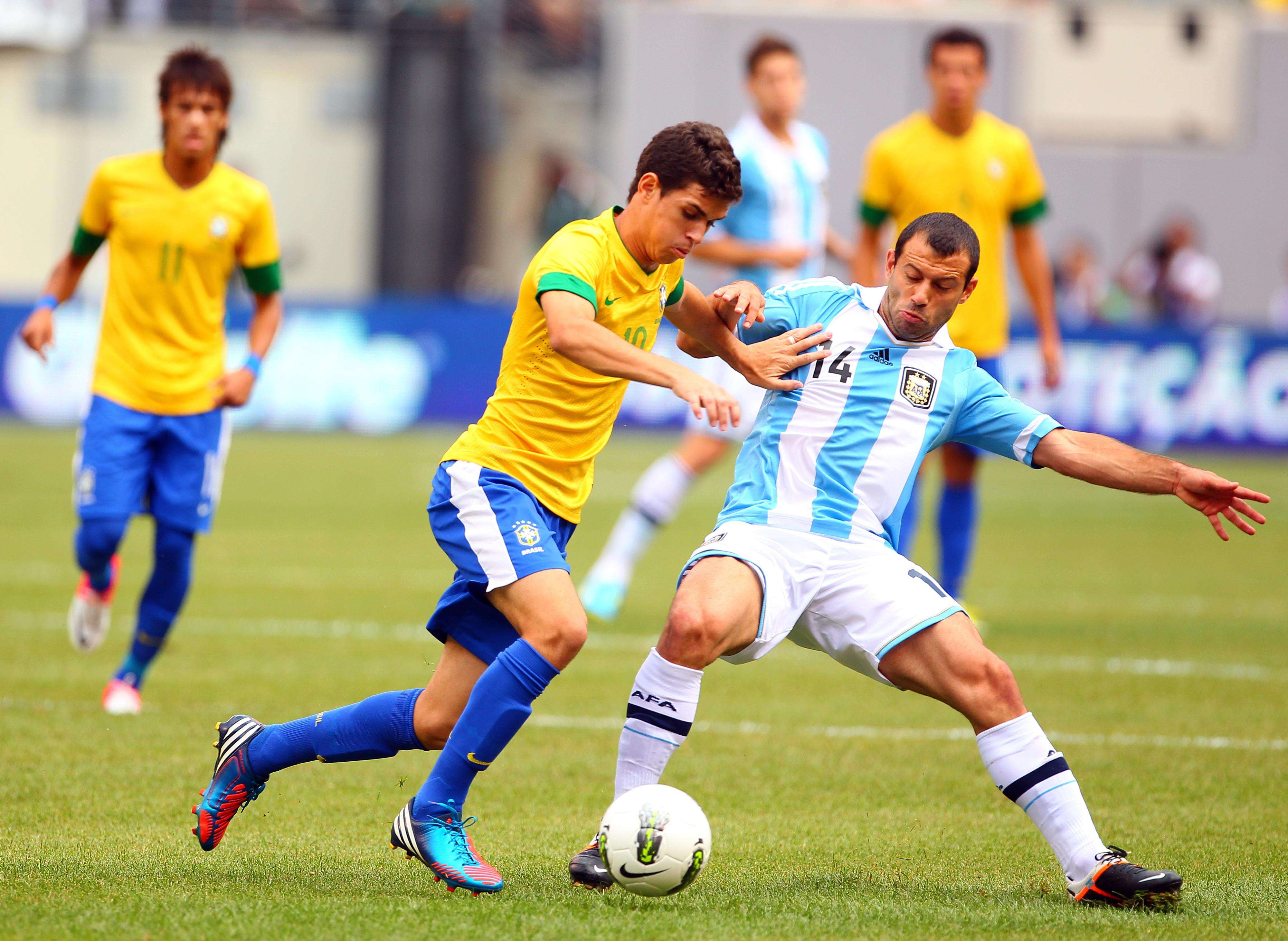 Brasil-Argentina resalta dentro de los juegos en esta fecha FIFA Foto: Getty Images