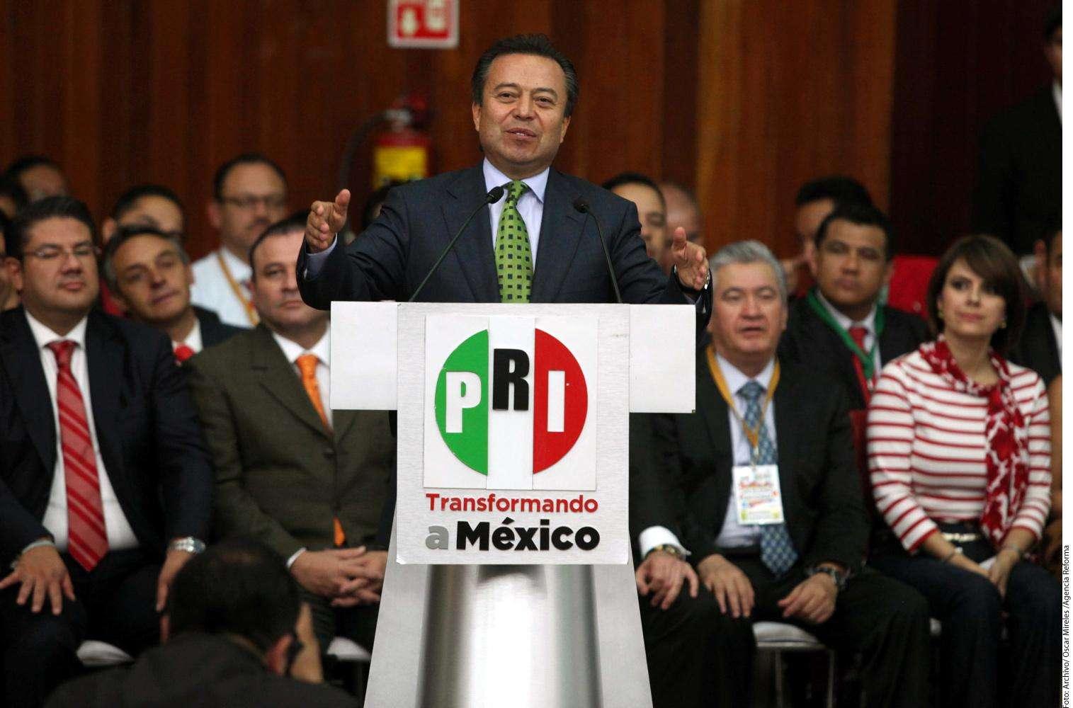 César Camacho Foto: Agencia Reforma