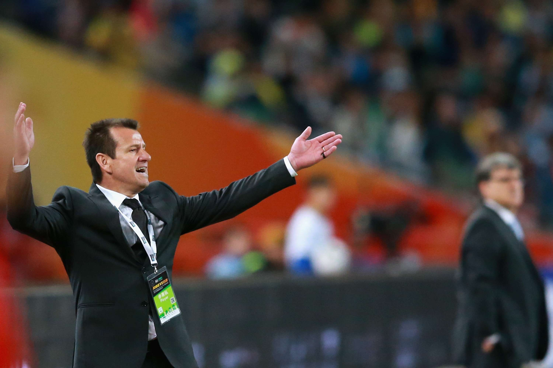 Dunga envolveu-se em confusão com comissão da Argentina Foto: Feng Li/Getty Images