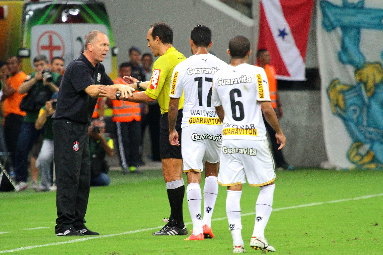 Mano Menezes manteve a sina do Corinthians de ganhar dos líderes e perder para os ameaçados Foto: Edmar Barros/Futura Press