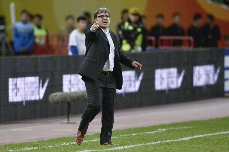 Martino dispuso once cambios con respecto al equipo que perdió con Brasil 2 a 0 Foto: AFP