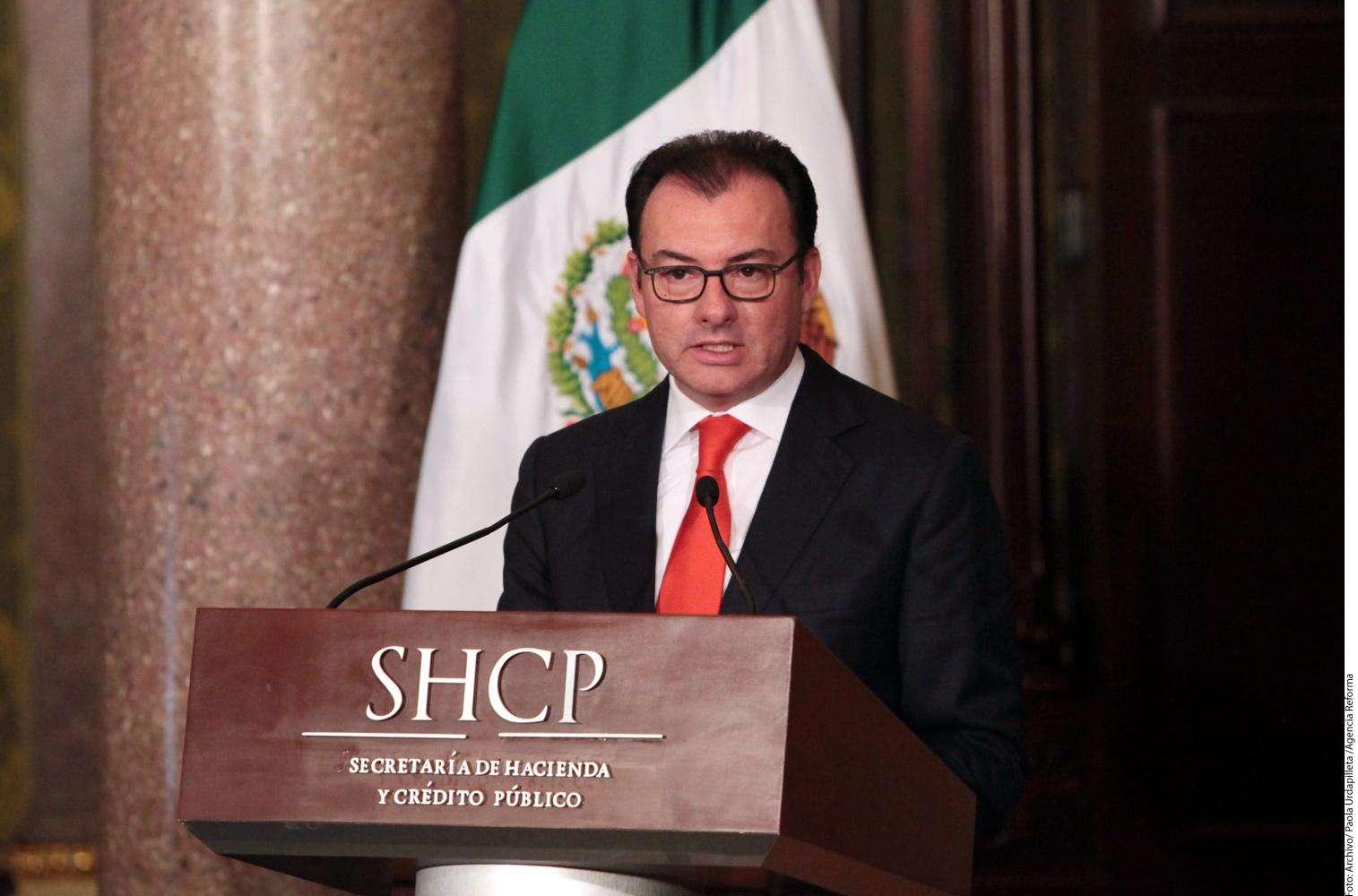Luis Videgaray Foto: Agencia Reforma