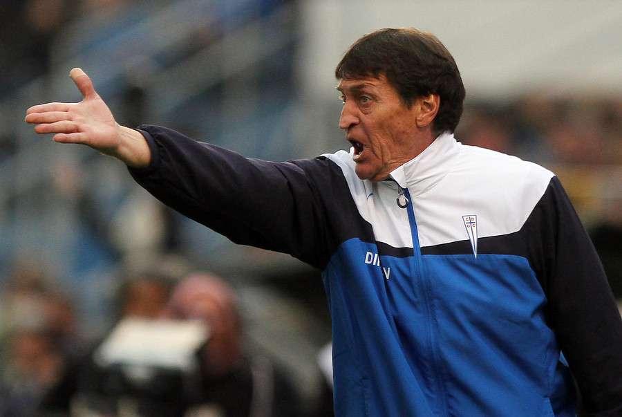 Falcioni alabó a Barnechea, el próximo rival. Foto: Agencia UNO