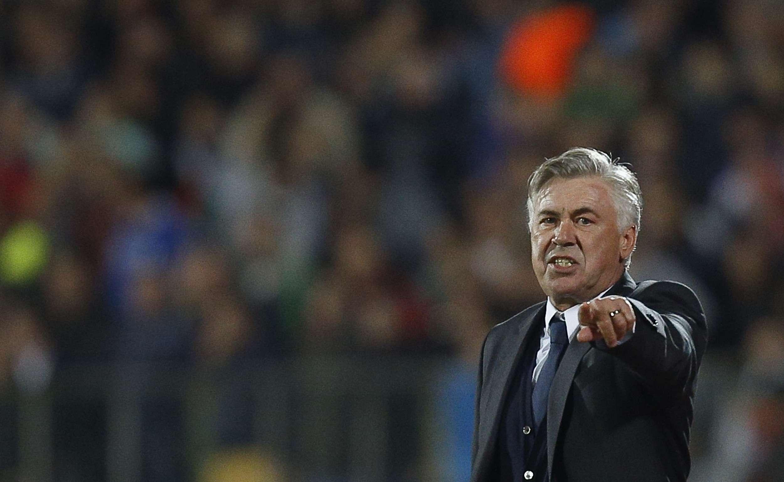 Carlo Ancelotti. Foto: Reuters en español