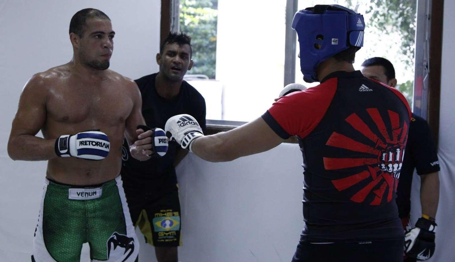 Thales intensifica seus treinos na equipe Nova União Foto: UFC/Divulgação