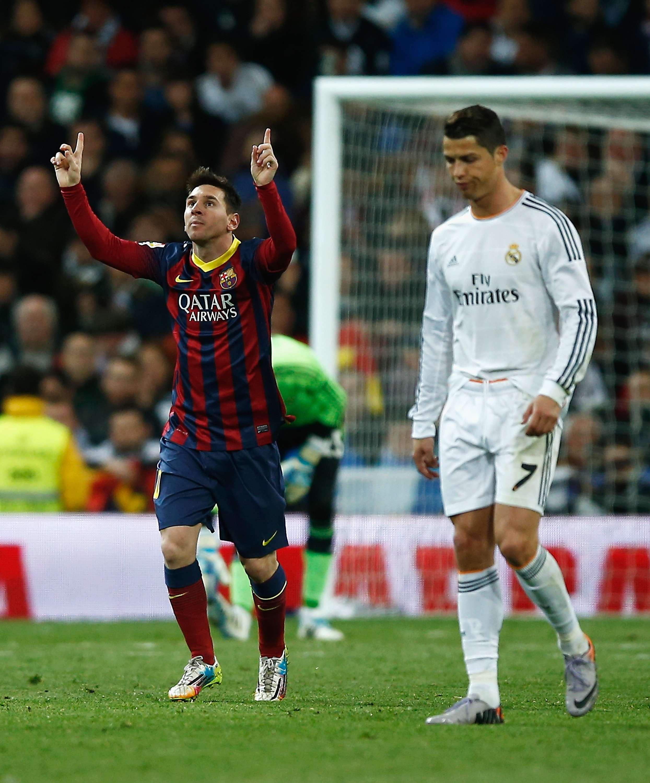 Cristiano y Messi se enfrentarán en un nuevo duelo. Foto: Getty Images