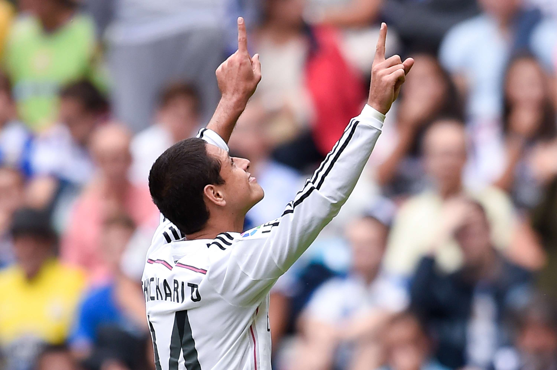Javier consiguió su gol. Foto: Getty Images