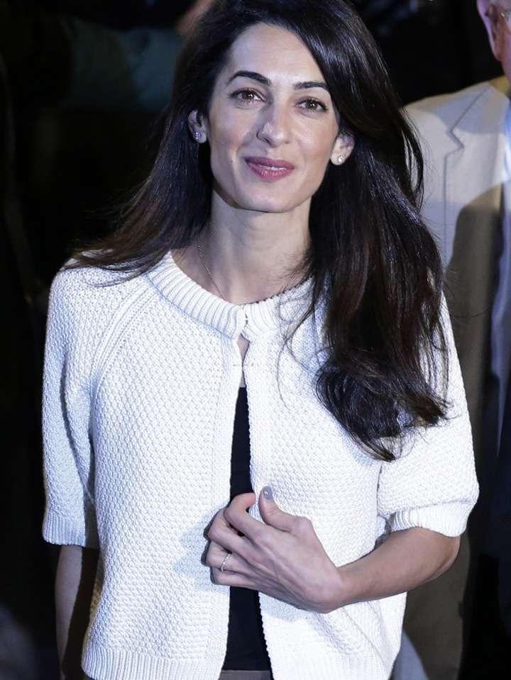 Amal Clooney Foto: AP