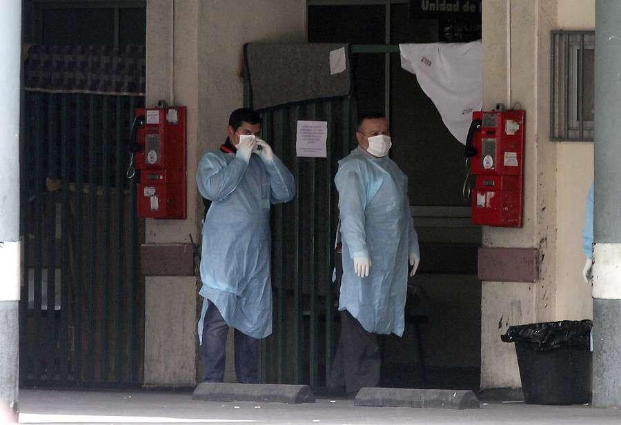 """El sujeto dijo que """"Chile está en pañales en esto"""". Foto: Agencia UNO"""