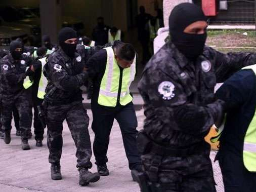 La PGR hizo el anuncio en conferencia de prensa, en el que anunció que, junto con Casarrubias, fue detenido uno de sus operadores más cercanos. Foto: Reforma