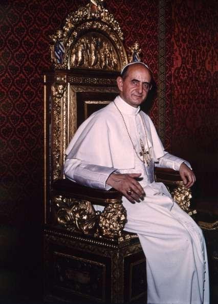 Pablo VI llegará a los altares tras la aprobación de un milagro por medio de su intercesión, la curación excepcional de un niño estadounidense. Foto: Archivo/Getty Images
