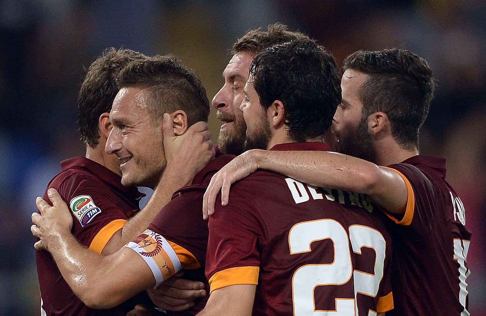 Roma tenta pressionar a Juventus no Italiano Foto: Filippo Monteforte/AFP