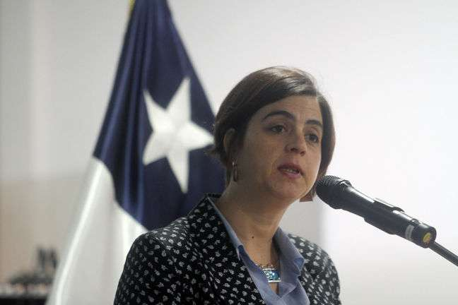 Ministra Pascual lamentó femicidio de Puente Alto. Foto: UPI