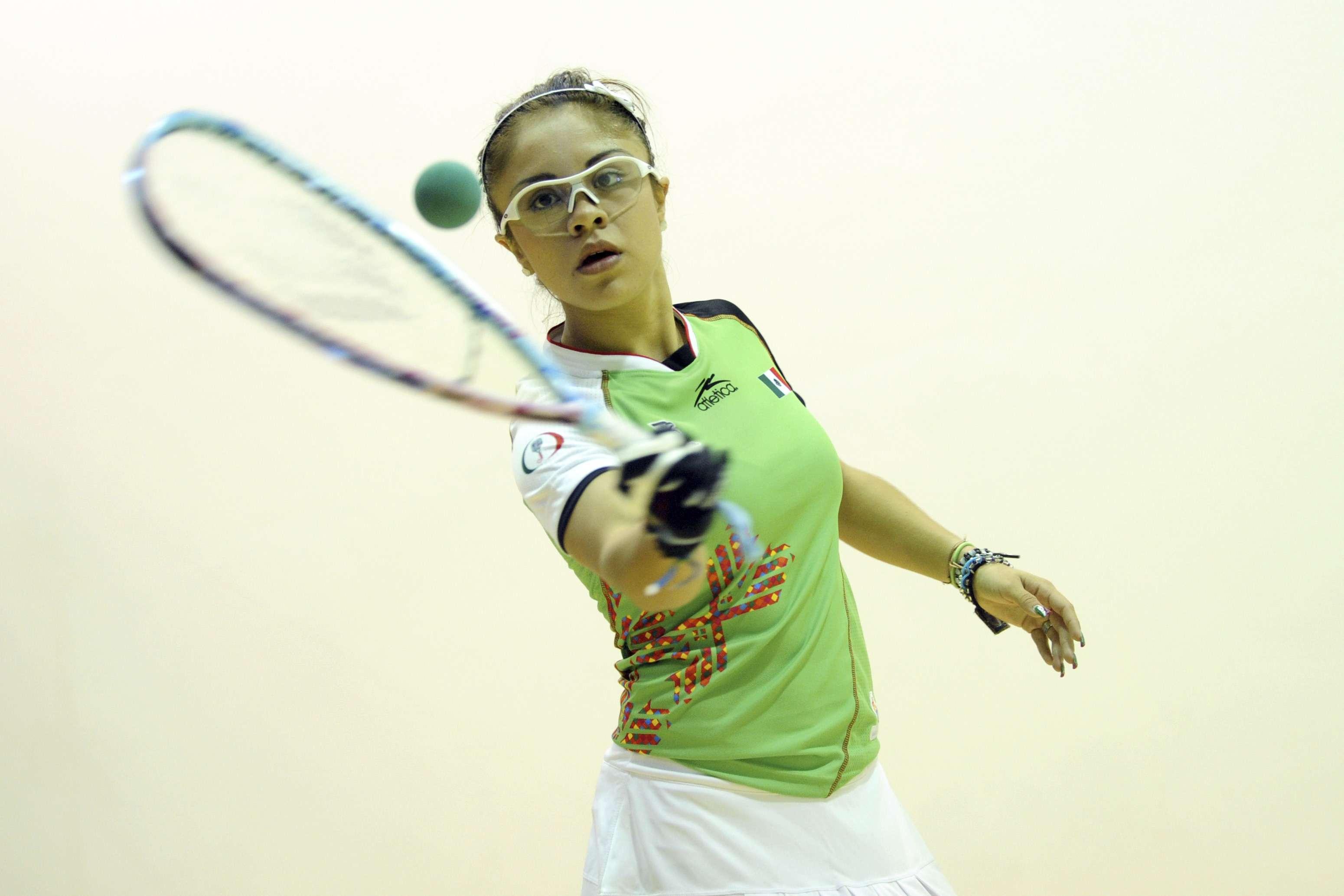 Paola Longoria perdió después de 152 victorias al hilo, un récord en el racquetbol Foto: Gettyimages