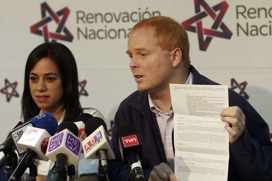 José Manuel Edwards y Paulina Núñez. Foto: Agencia UNO