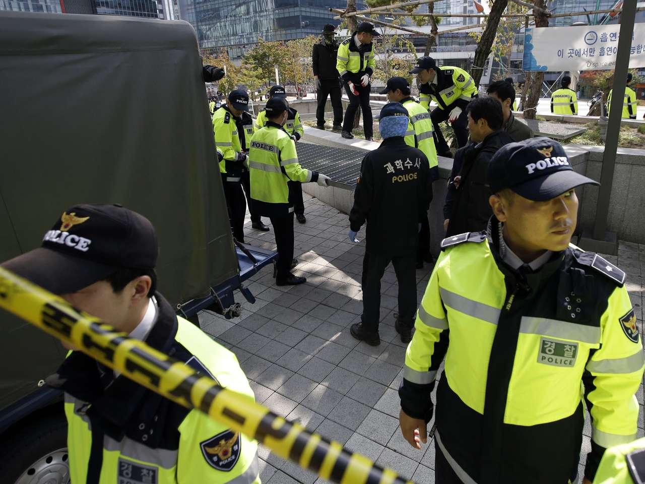 La mayoría de las víctimas eran estudiantes, según la televisión local Foto: Lee Jin-man/AP