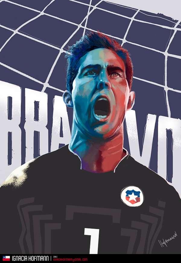 Ases de América: arte y fútbol unidos por la Copa América Foto: Terra