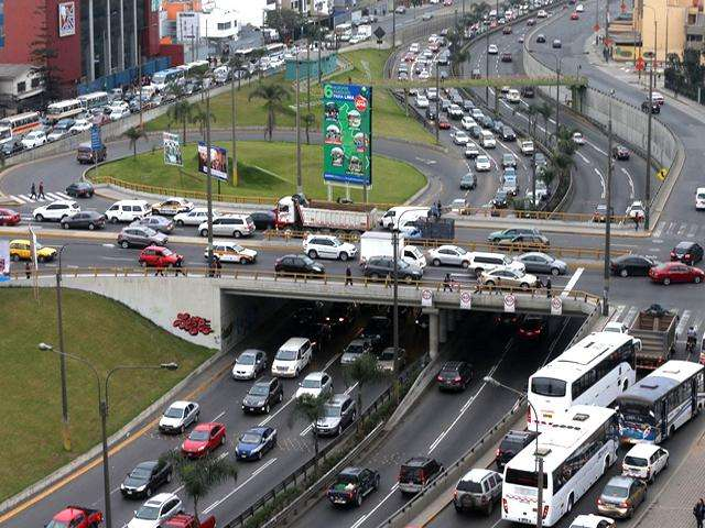 Avenida Javier Prado. Foto: Andina