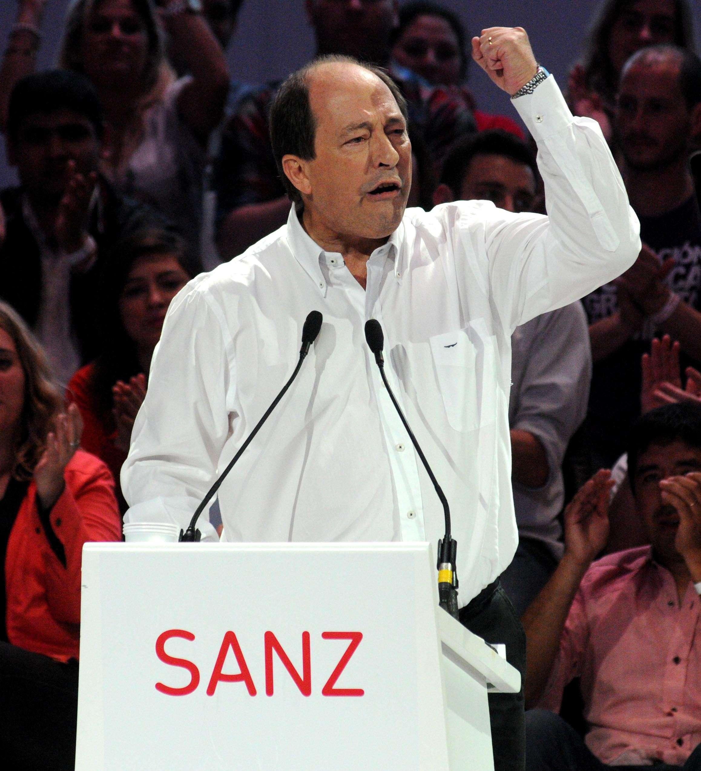 El presidente de la UCR, Ernesto Sanz Foto: NA