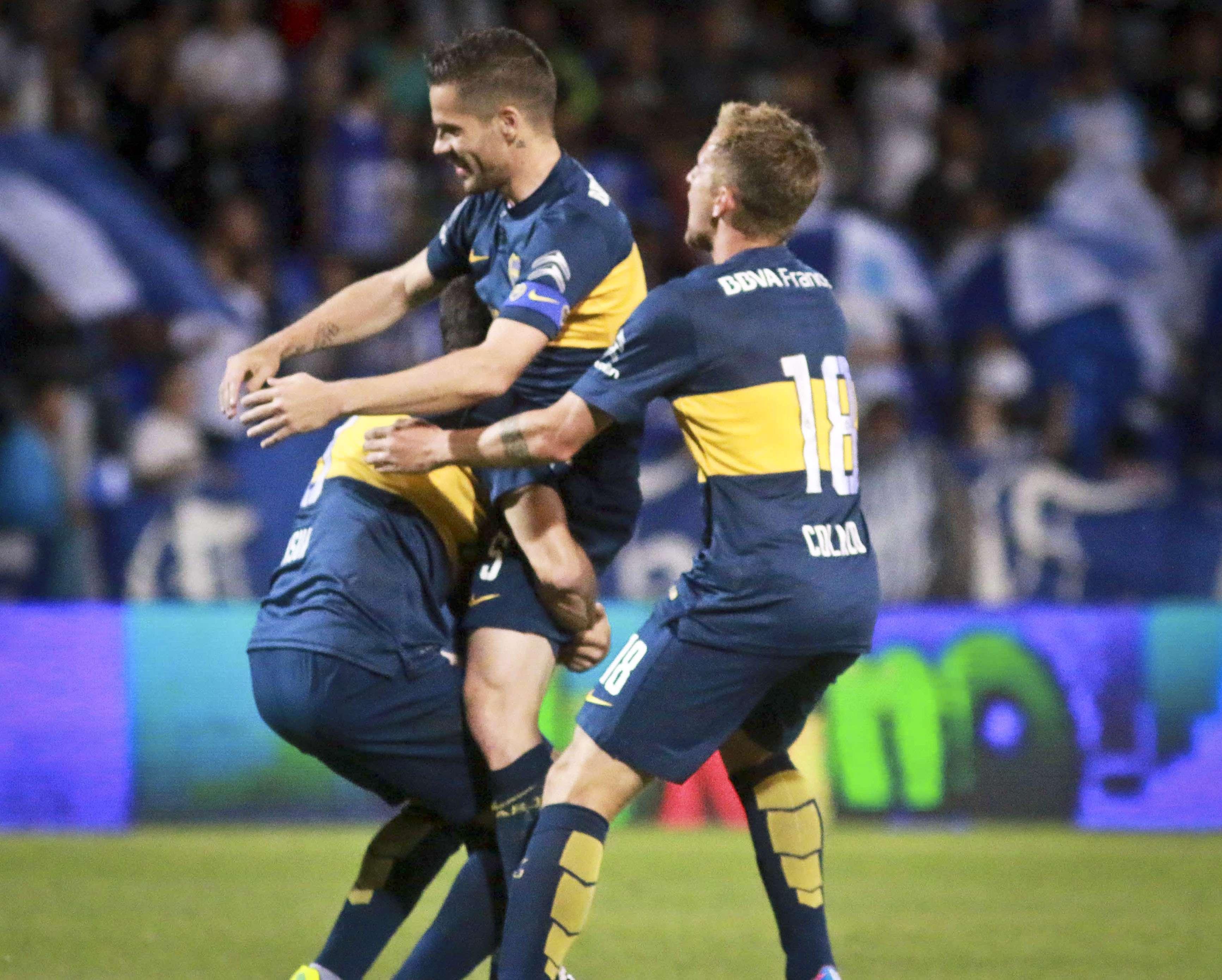 Boca derrotó este domingo a Godoy Cruz por 3 a 2 Foto: Agencias