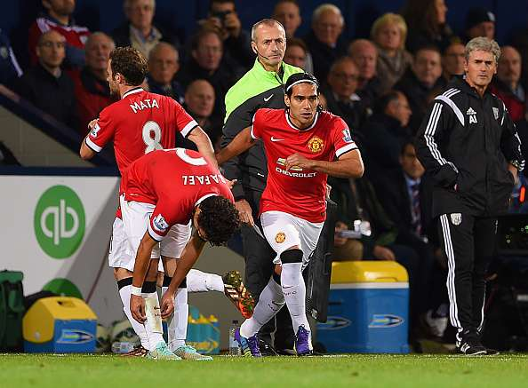 Falcao con el Manchester United. Foto: Getty Images