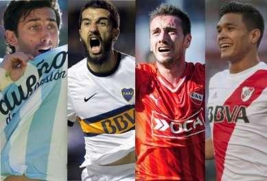 Fútbol argentino: cuatro grandes en la lucha por el título Foto: Terra