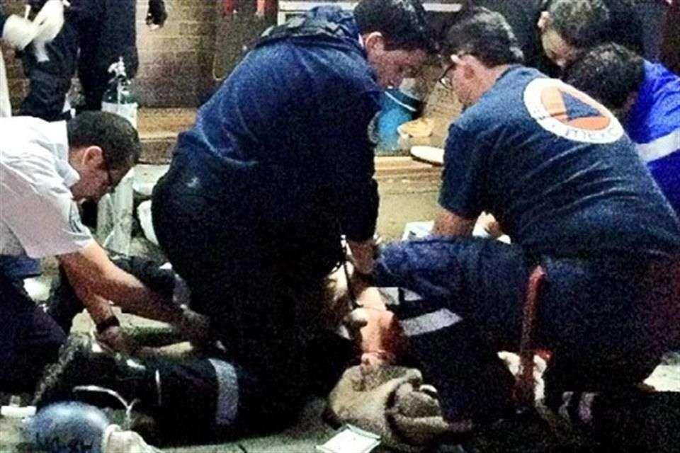 La víctima fue asesinada en una taquería ubicada en la esquina de Av. Universidad y Petén, Colonia Narvarte. Foto: Archivo/Reforma