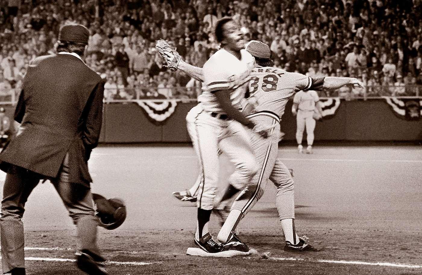 El error de Don Denkinger en la primera base se mantiene como el momento más memorable de la última vez que la Serie Mundial estuvo en Kansas City, allá en 1985. Foto: The Kansas City Star, Patrick Sullivan/AP