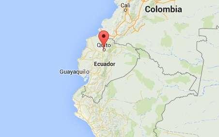 Las autoridades ecuatorianas aún no han informado de daños o víctimas después de los tres movimientos. Foto: Google Maps