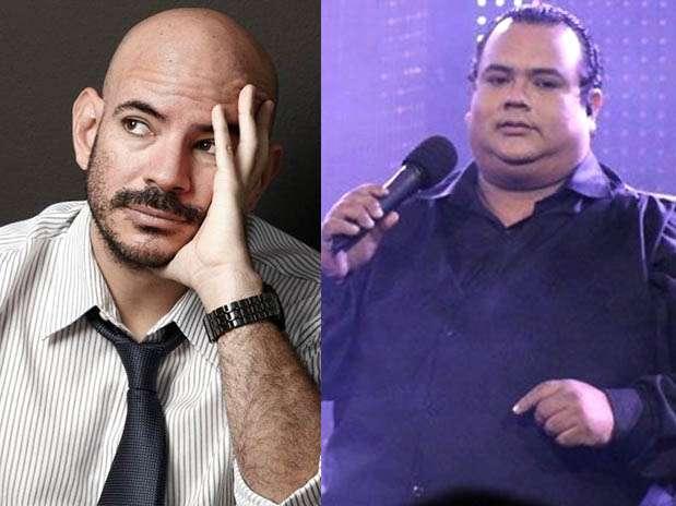 Ricardo Morán / imitador de Tito Nieves, Percy Pérez. Foto: Facebook