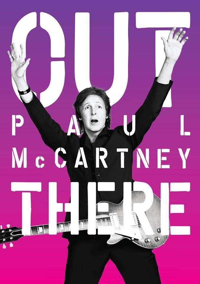 Turnê 'Out There' divulga 'NEW', disco mais recente de Paul McCartney Foto: Facebook/Reprodução