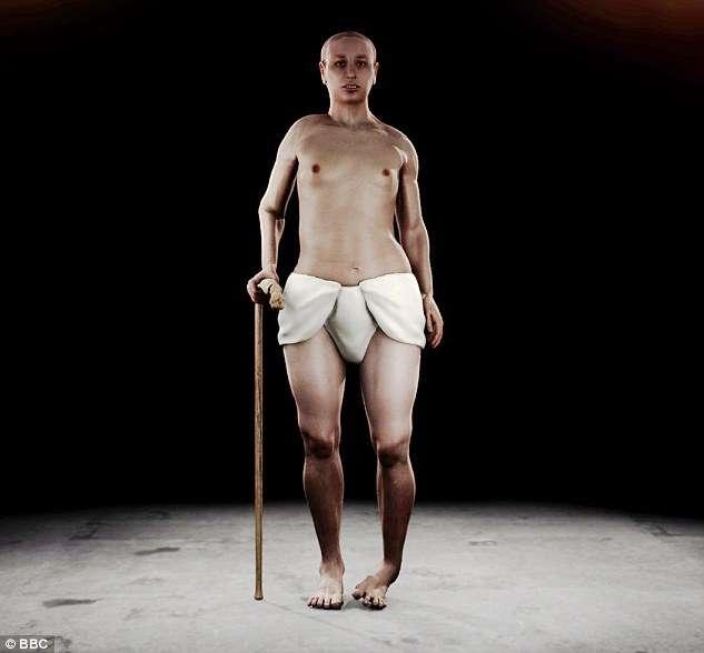 Aparência completa do rei egípcio foi revelada em um estudo recente Foto: Daily Mail/Reprodução