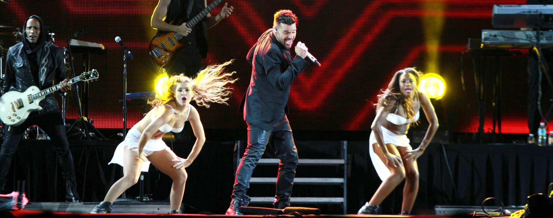 concierto exa 2014 ricky martin Foto: Photo AMC