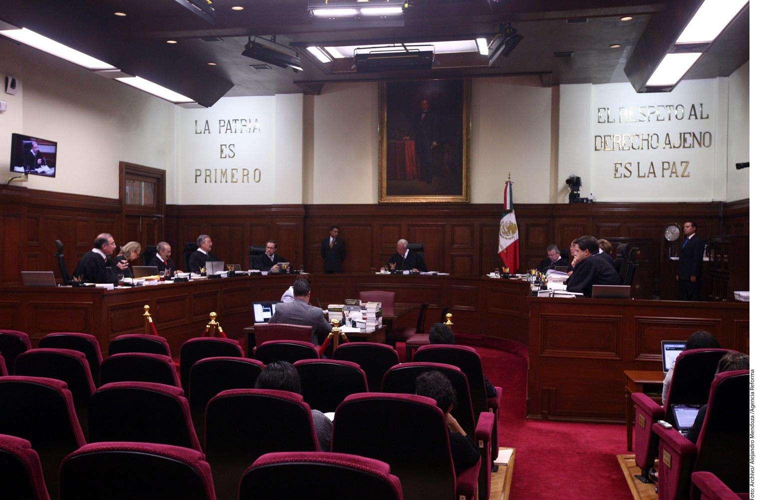 Suprema Corte de Justicia de la Nación Foto: Agencia Reforma