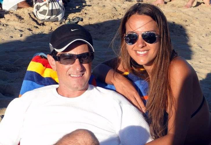 Stefanini está casado hace tres años y medio con Antonella Ognio Foto: Web