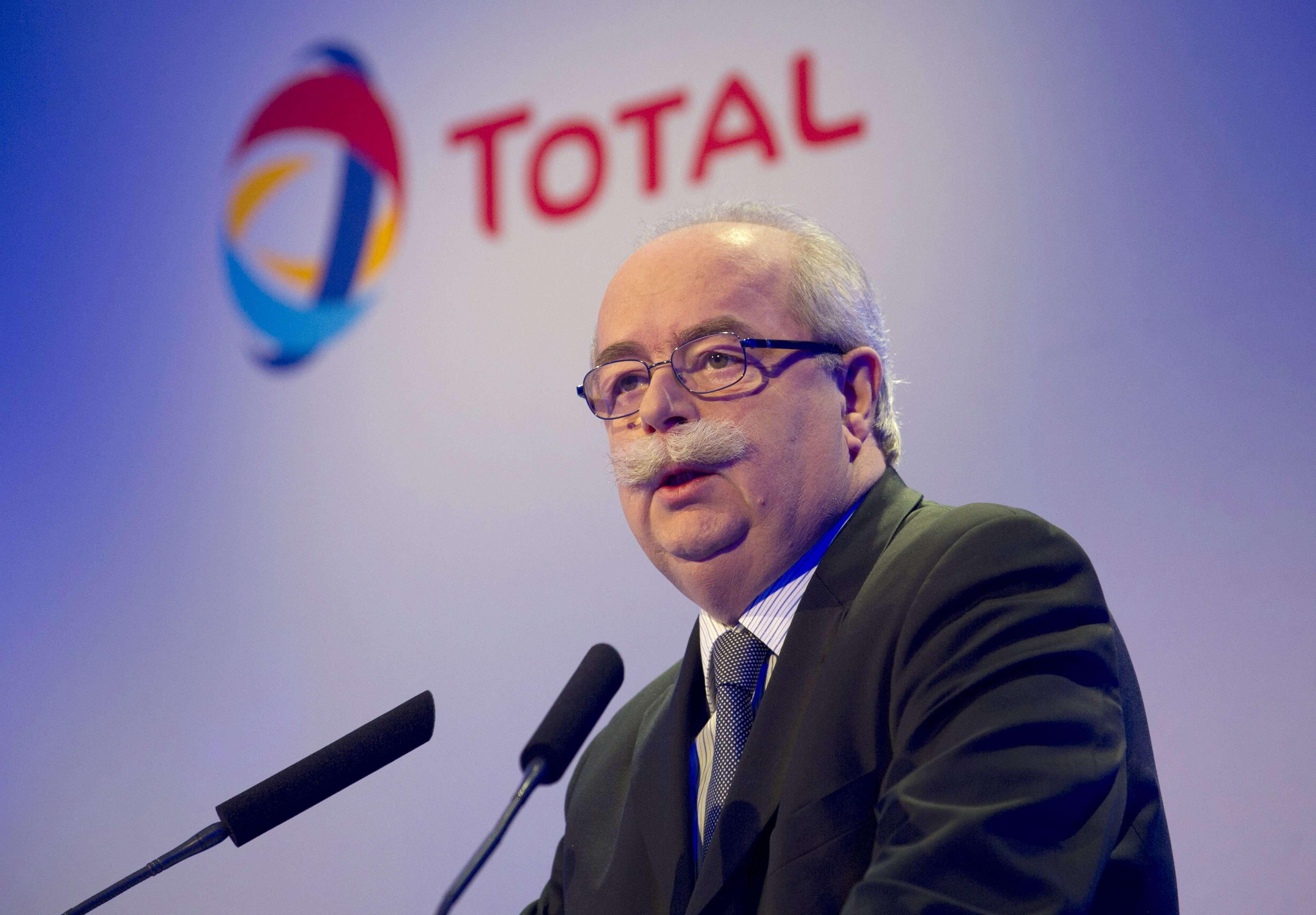 El director ejecutivo de la compañía francesa Total, Christophe de Margerie. Foto: EFE en español