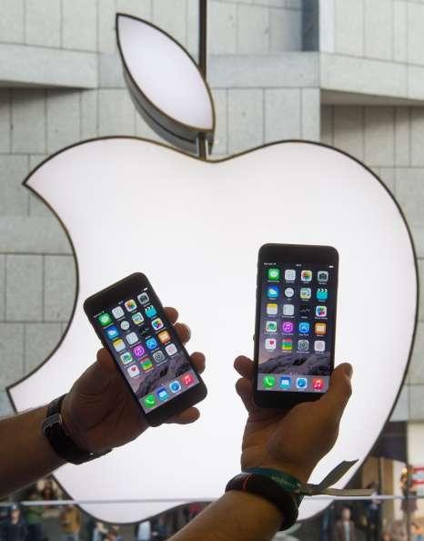 Las acciones de Apple sumaron 42 mil 100 millones de dólares respecto al mismo periodo del año anterior. Foto: Getty Images