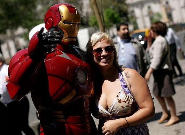 Durante esta tarde se dio comienzo a el Sexto Salón Internacional del Cómics, Expo-Comic 2014 y Multimedia. ProChile, invitando al evento los días 24, 25 y 26 de octubre en el Mall Florida Center. Foto: Agencia UNO