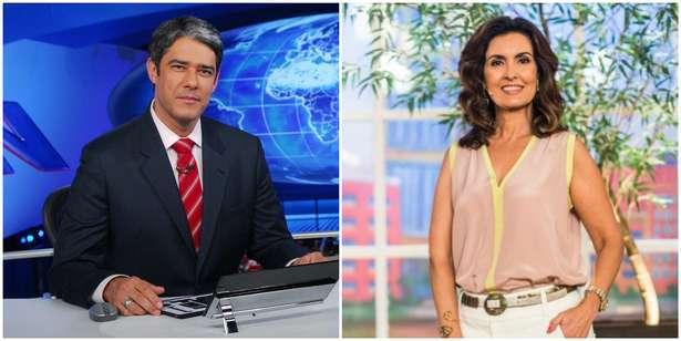 Bonner e Fatinha: 5 momentos especiais do casal 20 da Globo. Foto: Divulgação