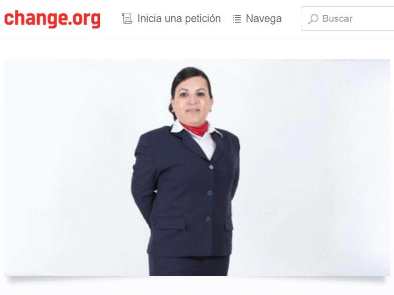 Lorena pide que las empresas respeten las leyes a favor de la igualdad y el respeto de todas las personas. Foto: Change.org
