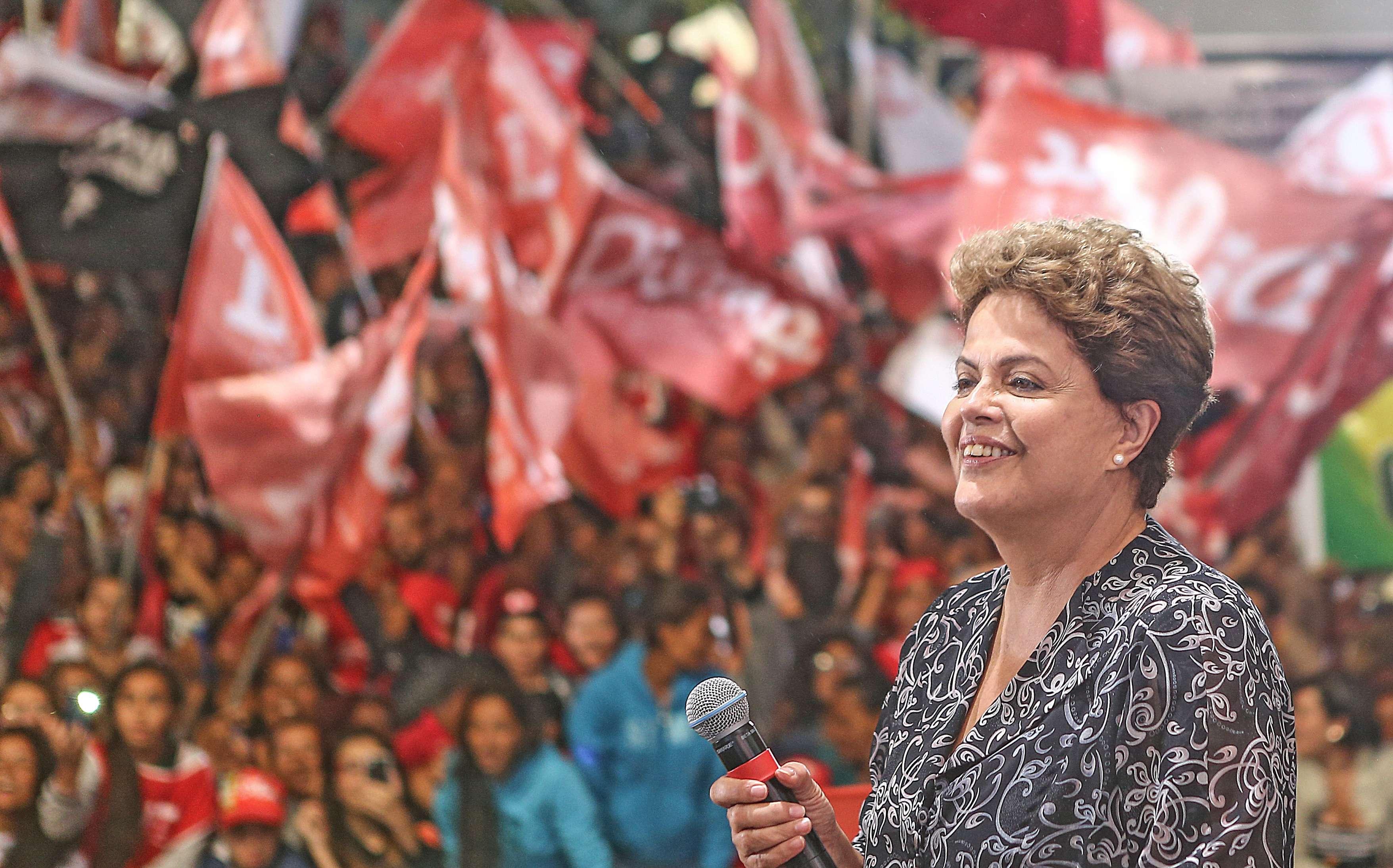 Em encontro na periferia de São Paulo, Dilma falou da agressividade nesta campanha eleitoral Foto: Ricardo Stuckert/Instituto Lula/Divulgação