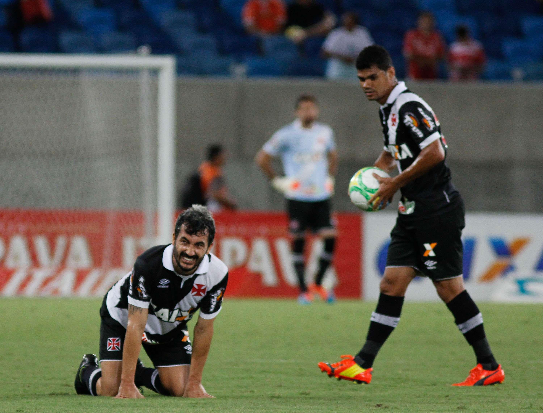 Vasco perde segunda seguida na Série B Foto: Nuno Guimarães/Gazeta Press