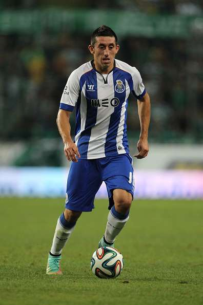 Héctor Herrera del Porto de Portugal. Foto: Getty Images