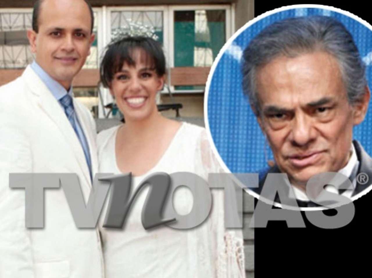 José José y Marysol Sosa Foto: TV Notas